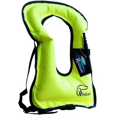 Rrtizan Adult Inflatable Portable Life Jacket
