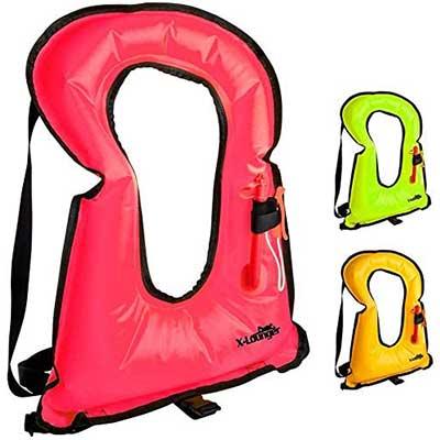 X-Lounger Inflatable Snorkeling Vest Life Jacket