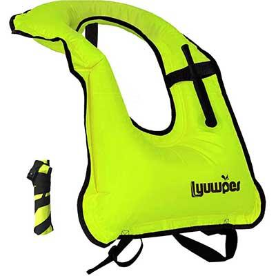 Lyuwpes Inflatable Adult Snorkeling Jackets Vests