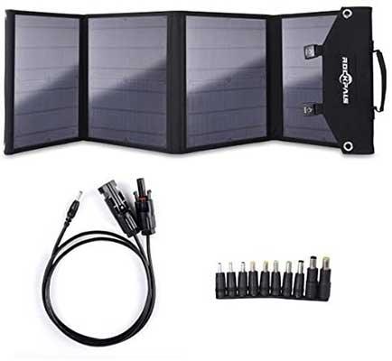 ROCKPALS Foldable 60W Solar Panel