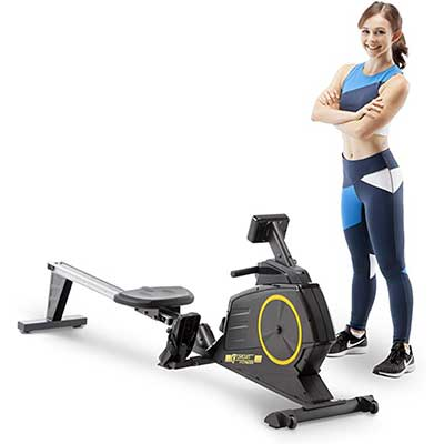 Circuit Fitness AMZ-986RW Deluxe Foldable Magnetic Rower