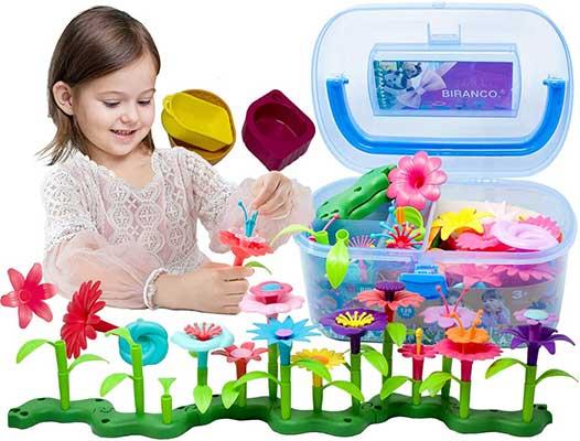 BIRANCO. Flower Garden Building Toys