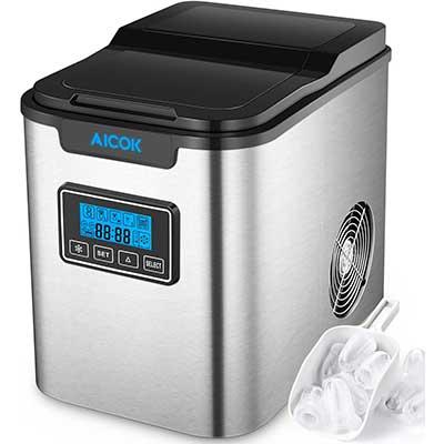 Aicok 26lb Portable Ice Maker