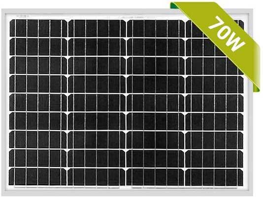 Newpowa 70W Solar Panel