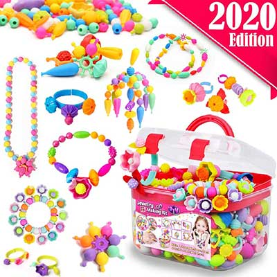 FunzBo Snap Pop Beads for Girls Toys