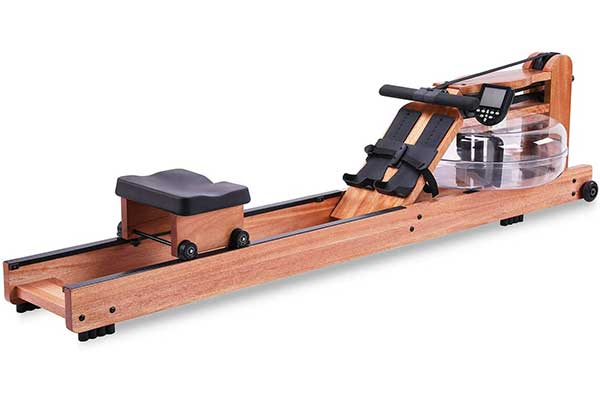 BATTIFE Red Walnut Wood Water Rowing Machine