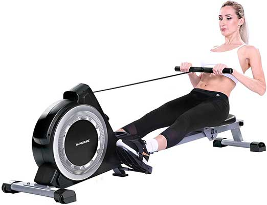 MaxKare 16 Levels Magnetic Folding Exercise Rower