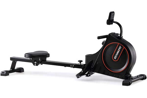 ECHANFIT Foldable Indoor Rower with LCD & 16 Levels