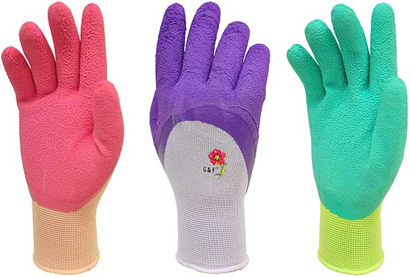 Women Gardening Gloves with Micro-Foam Coating