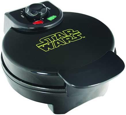 Uncanny Brands Darth Vader Waffle Maker