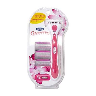 Schick Quattro for Women Value Pack 1Razor