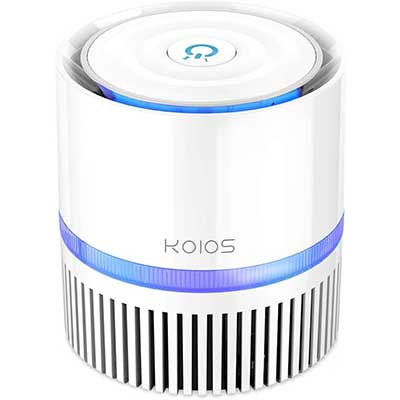 KOIOS Air Purifier, Air Cleaner with 3-in-1 True HEPA Filter