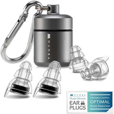 High-Fidelity Concert Earplugs, Reusable Musicians Ear Plugs