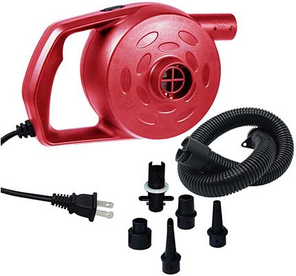 Chamvis Electric Air Pump High Power Quick-Fill Air Mattress