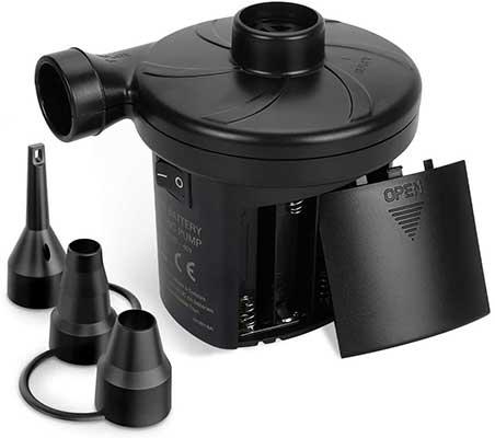 sanipoe Battery Powered Air Mattress Pump