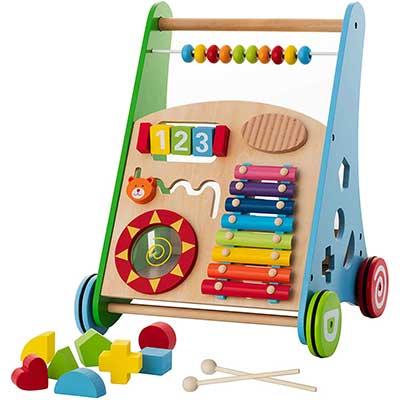 Baby Toys – Wooden Push Kids' Activity Toy