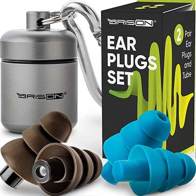 Premium Concert Ear Plugs – 4 PCS – High Fidelity