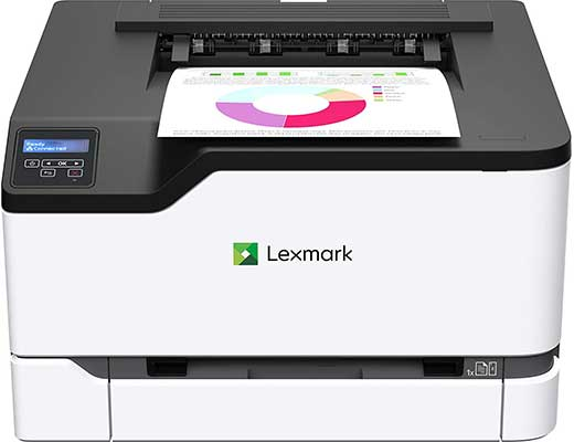 Lexmark Color Laser Printer with Wireless Capabilities