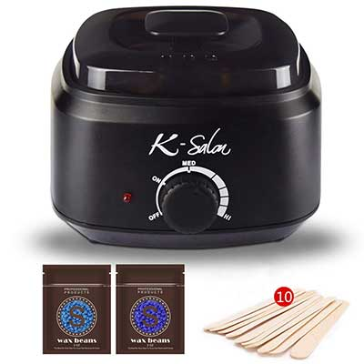 Wax Warmer, 18 In 1 Hair Removal