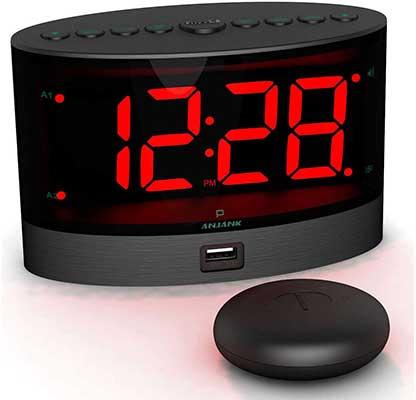 ANJANK Loud Alarm Clock