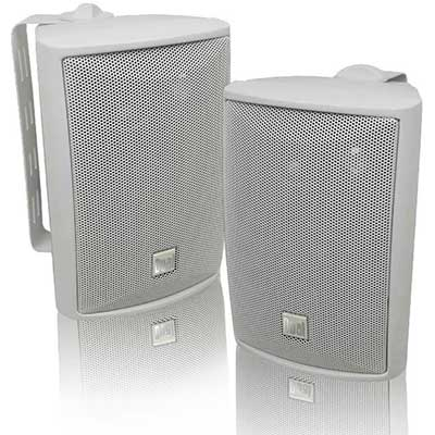 Dual Electronics LU43PW 3-Way High-Performance Outdoor Indoor Speaker