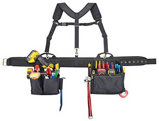 CLC Custom Leathercraft 1608 Electrician's Tool Belt