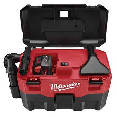 MILWAUKEE ELECTRIC TOOL 0880-20 Cordless Lithium-ion Wet/Dry Vacuum Cleaner