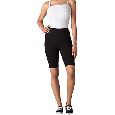 Woman Within Women's Plus Size Stretch Cotton Bike Short