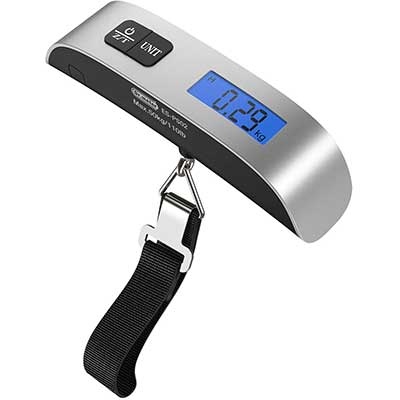 Backlight LCD Display Luggage Scale by Dr. Meter