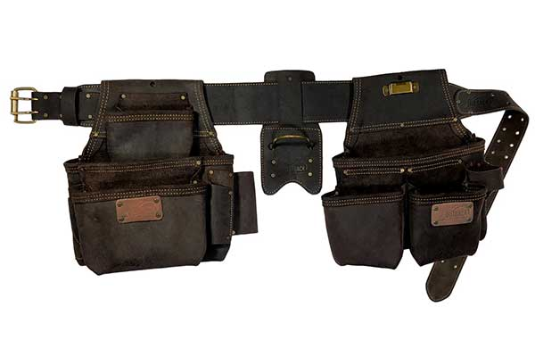 OX Tool Four Piece Construction Rig, Leather Tool Belt