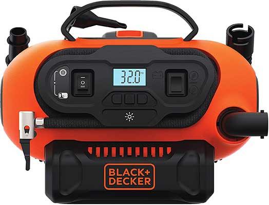 BLACK + DECKER 20V MAX Cordless Tire Inflator