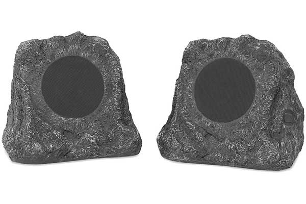 Innovative Technology Outdoor Rock Speaker Pair