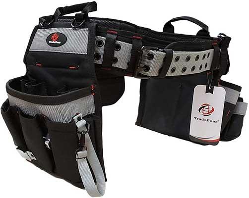 TradeGear Part#SZB Electrician's Belt & Bag Combo