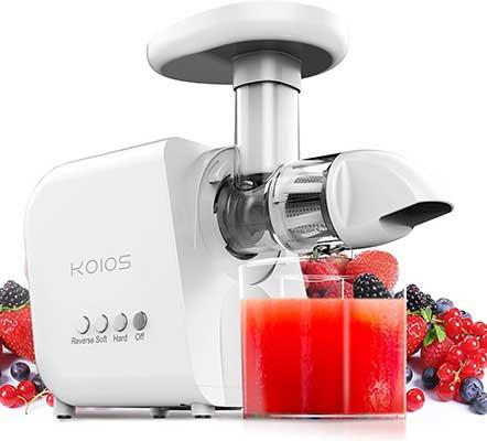 KOIOS Juicer, Masticating Juicer Machine