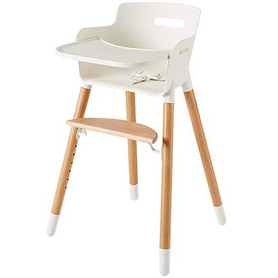 Wooden High Chair for Babies and Toddlers