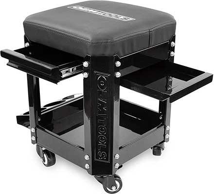 OEMTOOLS 24994 Black Rolling Workshop Creeper Seat