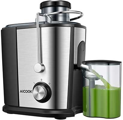 AICOOK Juicer Wide Mouth Juice Extractor