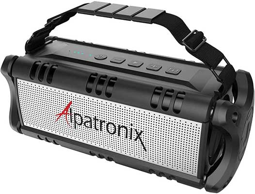 Upgraded Waterproof Bluetooth Speaker 60W