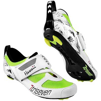 Triseven Premium Nylon Triathlon Cycling Shoes