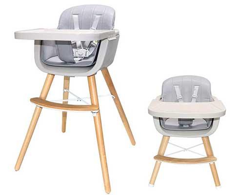 Asunflower Wooden High Chair