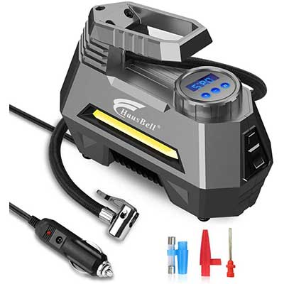 HAUSBELL Portable Air Compressor for Car Tires