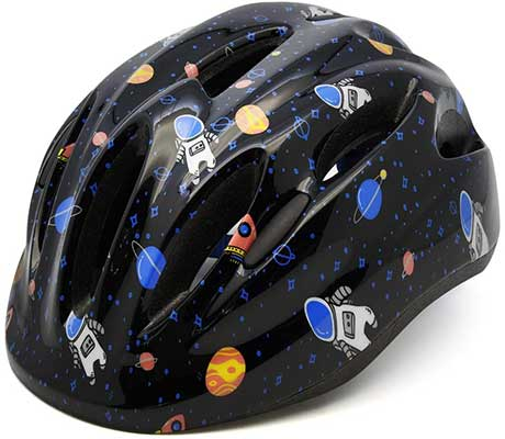 M Merkapa Kids Bike Helmet Adjustable 3D Shark Bicycle Helmets
