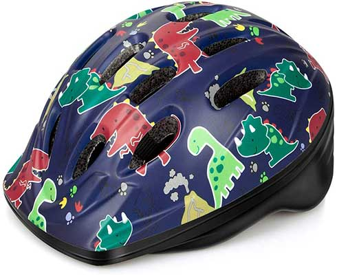 OutdoorMaster Toddler Bike Helmet-CPSC Certified