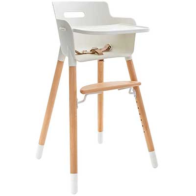 WeeSprout Wood High Chair for Babies & Toddlers