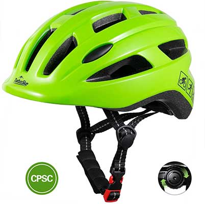 TurboSke Toddler Bike Helmet, CPSC Certified