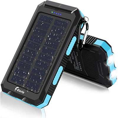 Solar Charger, 20000mAh Portable Outdoor