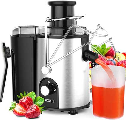 AZEUS Juicer with Utility Patent, Juice Extractor