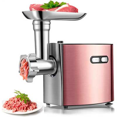 Electric Meat Grinder by Cheffano