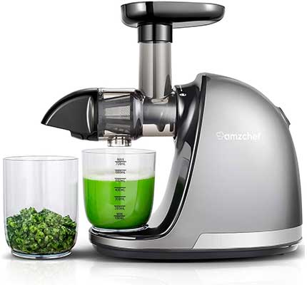 Slow Masticating Juicer, AMZCHEF Slow Juicer Extractor