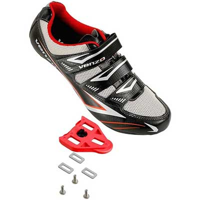 Venzo Bicycle Men's or Women's Road Cycling Shoes